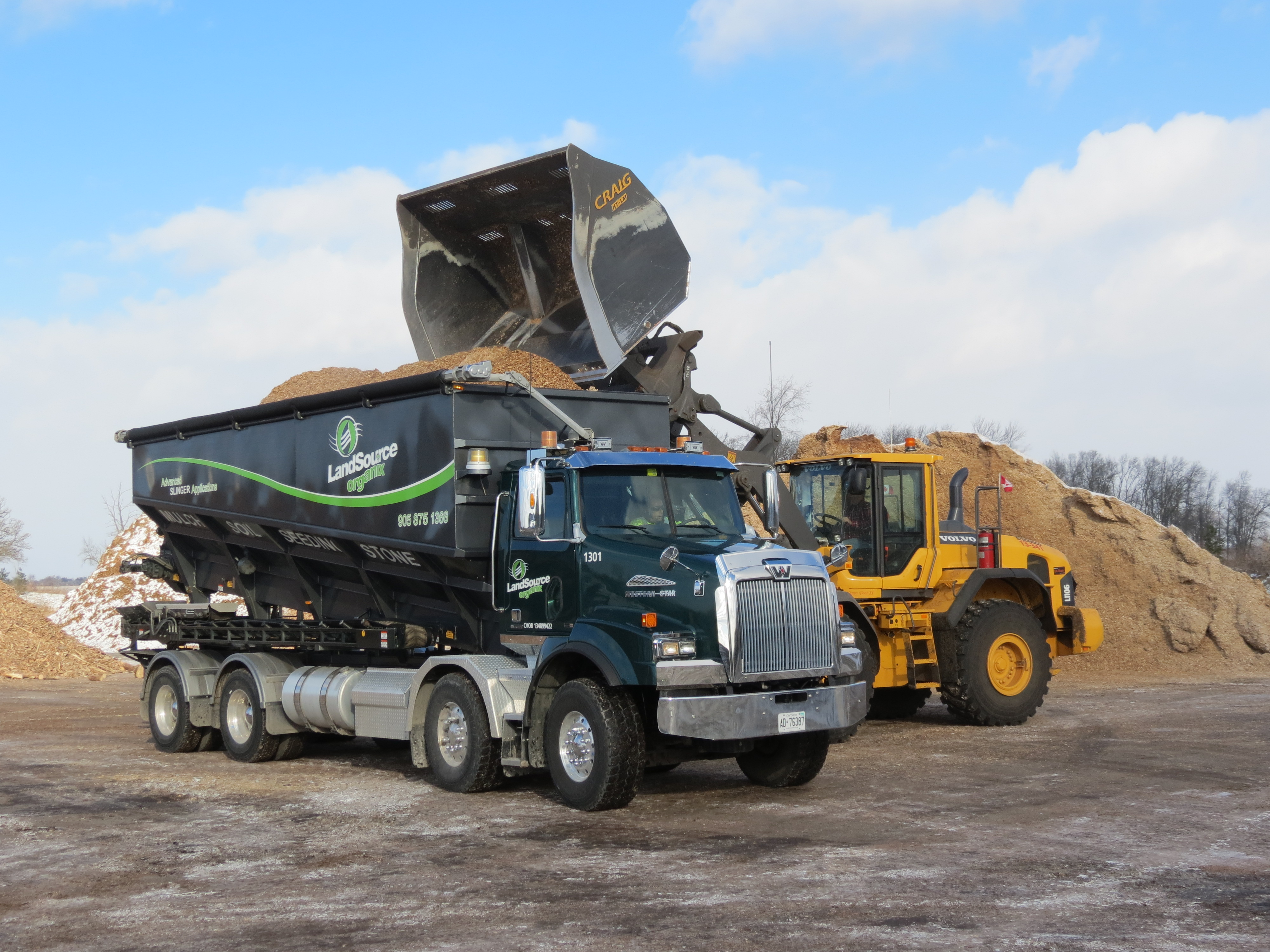 Advanced Stone Slinger System Achieves Lower Costs Plus New Opportunities For Blower-Truck Innovator