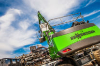 Shredder Upgrade Calls For An Upgrade To SENNEBOGEN At Lakeside Auto Recyclers