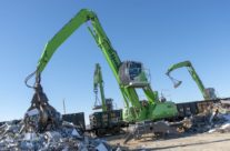 Cross-Border Operations Lead W. Silver To More SENNEBOGEN Scrap Handlers